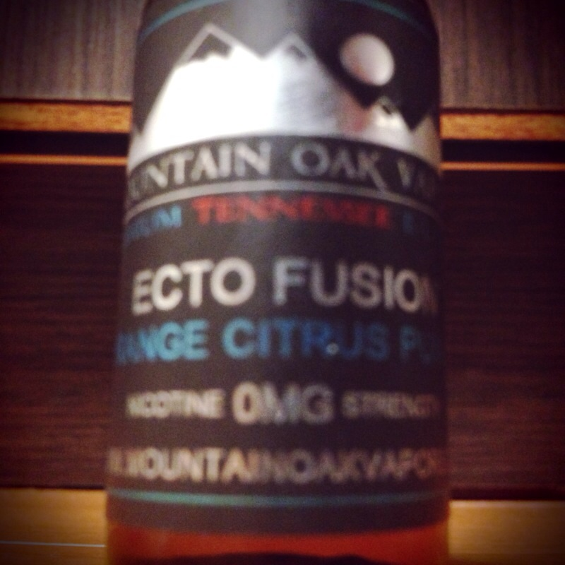 リキッドレビュー Mountain Oak Vapors Ecto Fusion