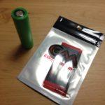破れたバッテリー皮膜の修理 Coil Master【18650 Battery Wraps 】